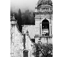 Taormina church detail Photographic Print