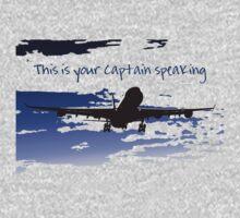 Captain Speaking by Diana Sénèque