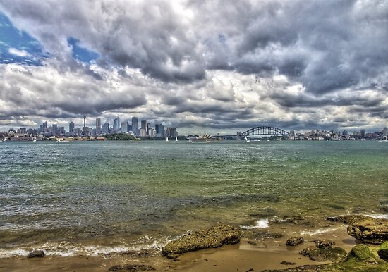 Sydney with Icons by Bob Culshaw