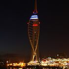Spinnaker Tower Reflections by Jane Burridge