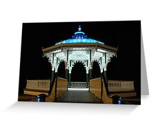 The Bandstand, Brighton Greeting Card