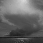 Clouds Over Langstone Harbour by Jane Burridge