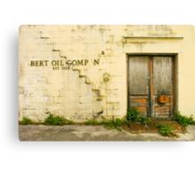 Bert Oil Co Canvas Print