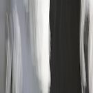 White & Black Trees by Lynn Wiles