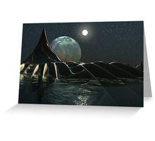 Leviathan at Rest Greeting Card