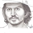 Johnny Depp by emarshall