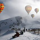 Cold Hot Air Balloons by Matt Rhodes