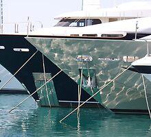 Mega Yachts Nice by awiseman