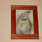 Overweight Hare by shazza69