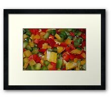 Very Colorful Framed Print