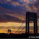 George Washington Bridge Silhouette by GraceNotes