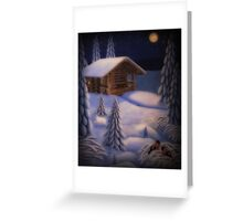 On the Moonlight Greeting Card