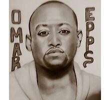 omar epps Photographic Print