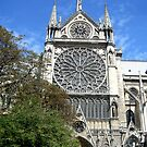 Notre Dame de Paris - Side View by RecipeTaster