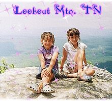 Grandkids At Lookout Mountain, TN by Bea Godbee