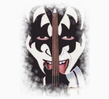 Gene Simmons by Tom Biles