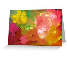 Happy colours Greeting Card