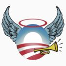 Obama Angel by gleekgirl