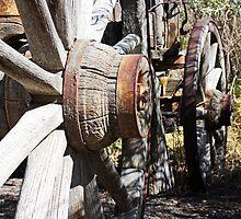 Wagon Wheels by Julia Washburn