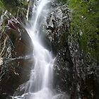 Waterfall by Cristóbal Alvarado Minic