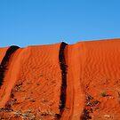 Up and Over,Madigan Line Simpson Desert by Joe Mortelliti