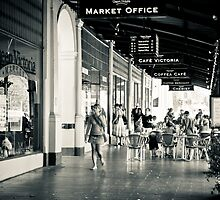 Queen Victoria Market Place, Melbourne by pobert