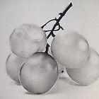 Grapes by Bridie Flanagan
