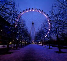 London Eye by MissBritt
