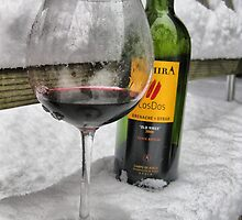 Wine In The Snow by SharonAHenson