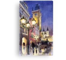 Prague Old Town Square 3 Canvas Print