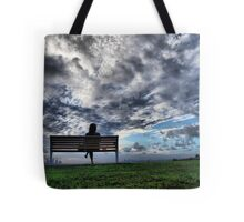 She has the city at her feet Tote Bag