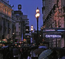 London Evening by walshetta