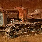 Old rusty iron by Michael  Gunterman