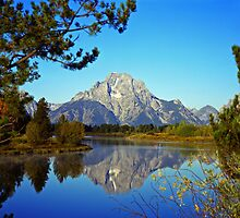 Mt. Moran & Snake River #2 by Mike Norton