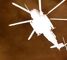 Gunship overhead by Craig Bailey