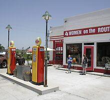 Gas station, Galena by BOBT