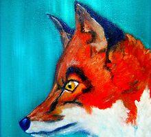 Red Fox by Angela  Burman