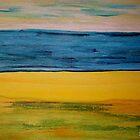 Plain Beach View by Sabine Jacobsen [SJArt]