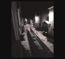 snow in early morning by Franlaval