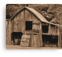 Grandpappy's 'Work from Home' Jobs Center Canvas Print