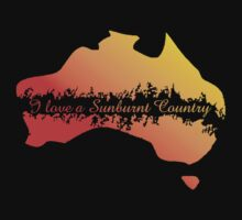 I Love a Sunburnt Country by Diana Sénèque