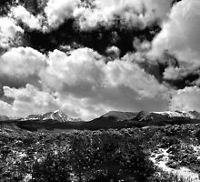 Mount Powell and Meridian Peak by Lynn Bashaw