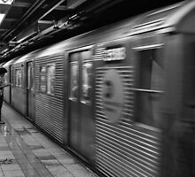 Daily life - in the NYC subway by NothingFormal