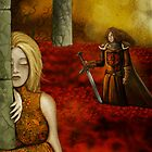 Knight of the Rose meets Lady of Thorns by Crusader