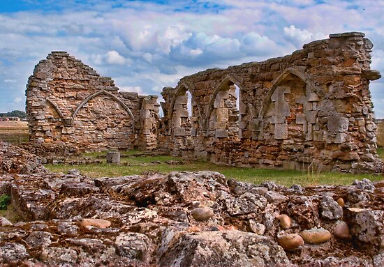 Mattersey Priory by Ray Clarke