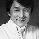 Jackie Chan II by Wieslaw Borkowski