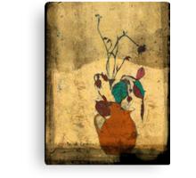 bouquet sordide fresco  Canvas Print