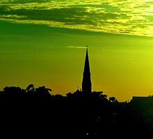 Church at St Leonards in Sydney NSW by Doug Cliff