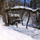Winter Wonderland at Garvine Mill by Hope Ledebur