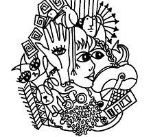Doodle 2 by Anni Morris